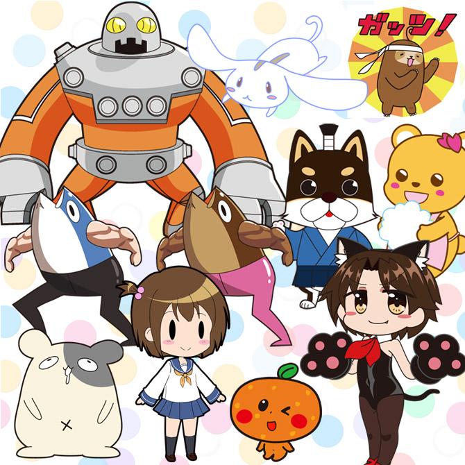 オリジナルイラストキャラクターデザイン制作株式会社ゼロワン