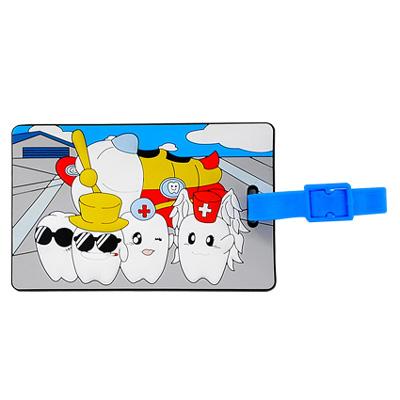 ノベルティグッズ・OEM生産・販促品におすすめのオリジナル商品「PVCネームタグ」